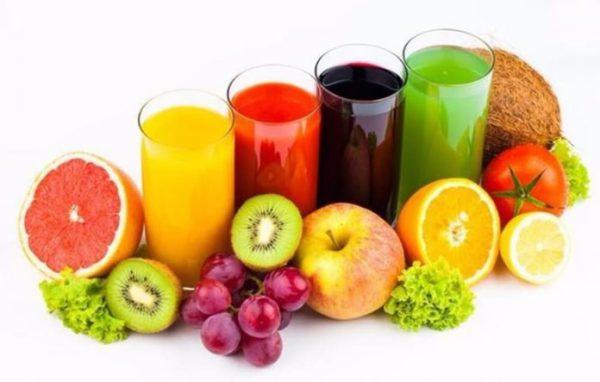 Chỉ uống nước ép trái cây
