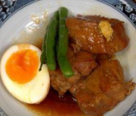 Món thịt kho tàu kiểu Nhật Bản ngon bổ dưỡng