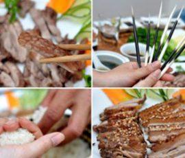 Món thịt nhím Ba Vì - Đặc sản bạn nên thử một lần