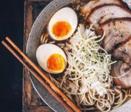 Món thịt xá xíu Nhật Bản thơm ngon lạ miệng