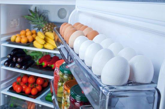 Cách bảo quản trứng trong tủ lạnh