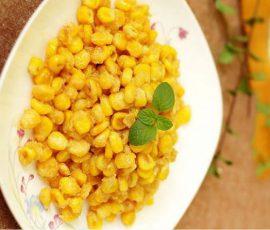 Món bắp xào bơ ngọt ngon thơm lừng