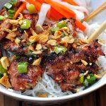 Món bún thịt nướng cho ngày chán ăn cơm