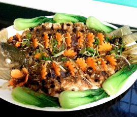 Món cá chép hấp xì dầu mềm thơm mà không tanh