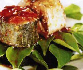 Cá lóc kho lá trà xanh giúp cá ngon khó cưỡng