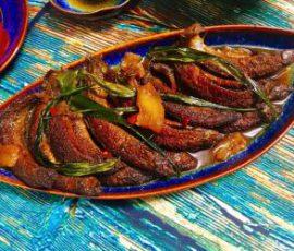 Món cá chạch kho lá gừng thịt mỡ ngon chuẩn vị