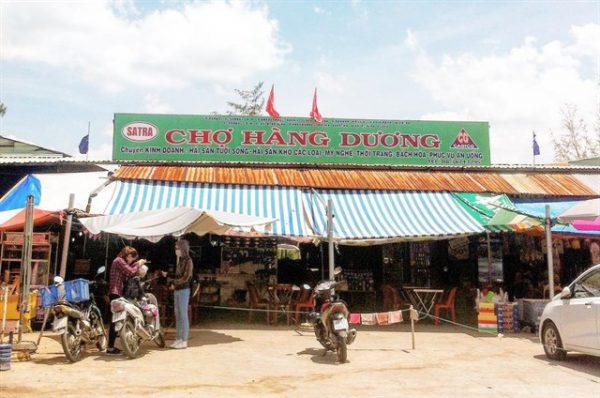 Chợ hải sản Hàng Dương - Cần Giờ