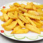 Món khoai tây chiên giòn đơn giản ngay tại nhà