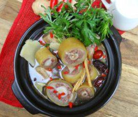 Món lẩu đuôi bò thuốc bắc ngon bổ dưỡng