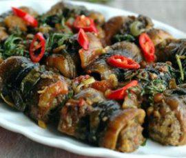 Món lươn cuốn thịt rán thơm phức vừa ngon vừa bổ