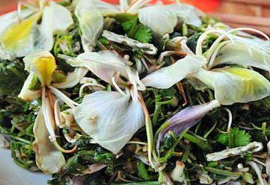 Món ăn từ hoa ban độc đáo hấp dẫn của Điện Biên