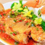 Món cá diêu hồng sốt cà chua siêu ngon hấp dẫn