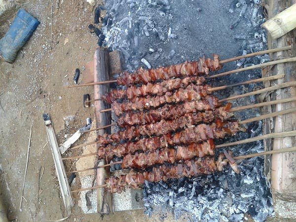 Thịt nướng mắc khén