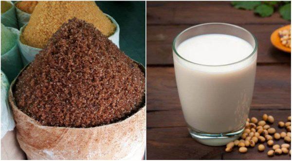 Sữa đậu nành và đường đen không được kết hợp cùng nhau