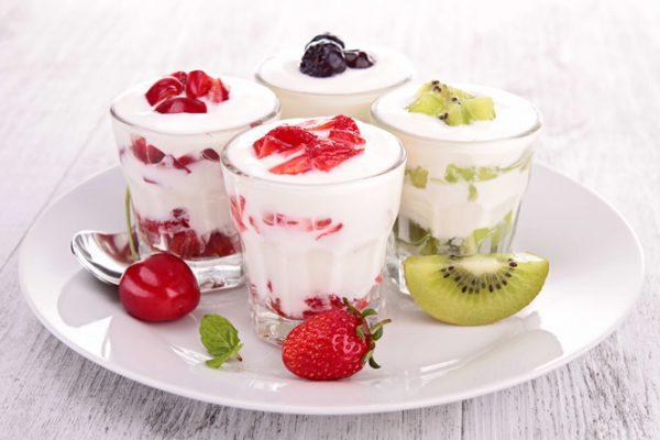 Sữa chua và trái cây không nên kết hợp