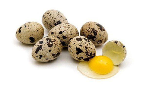 Trứng cút giúp dưỡng đẹp da từ bên trong