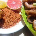 Món bạch tuộc nướng muối ớt cay xè giòn sần sật