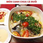 Món canh chua cá đuối ngon tuyệt mà không bị tanh