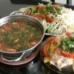 Món lẩu cá lóc ngon chuẩn hương vị Nam Bộ
