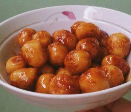 Món trứng cút rim nước dừa tươi ngon lạ miệng