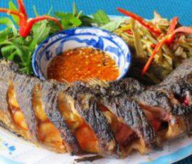 Món cá nướng bằng lò vi sóng thơm nức mũi