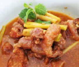 Món gân bò kho sả ấm bụng cho ngày se lạnh