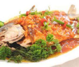 Món cá chép sốt cà chua thơm ngon hấp dẫn