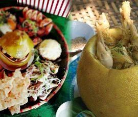 Gà hấp bưởi - Món đặc sản nức tiếng của Đồng Nai