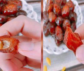 Món mứt chôm chôm dẻo thơm mới lạ đón Tết