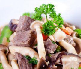 Món thịt bò xào nấm cực ngon mà bổ dưỡng