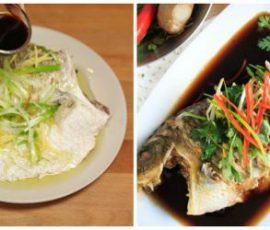 Món cá hấp tương hành đơn giản mà ngon tuyệt