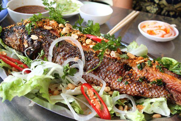 Món cá lóc nướng giấy bạc ngon tuyệt