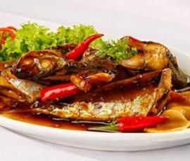 Món cá nục kho tỏi ớt đơn giản mà thơm ngon