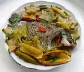 Món cá rô đồng kho khế dân dã mà ngon đậm đà
