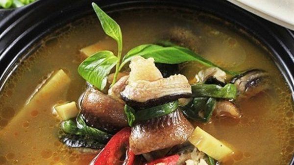 Món canh chua lươn