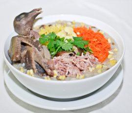 Món cháo chim bồ câu ngon bổ dưỡng tại nhà