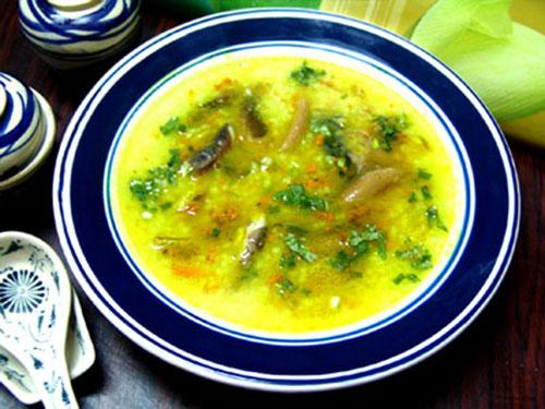 Món cháo lươn bổ dưỡng cho bé