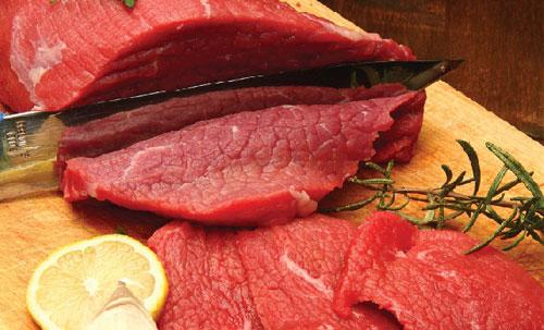 Thớ thịt là dấu hiệu cơ bản để phân biệt thịt bò và các loại thịt giả bò