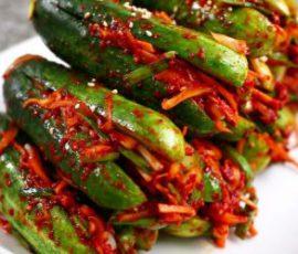 Món kim chi dưa leo ngon đúng kiểu Hàn Quốc