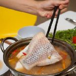 Món lẩu cá diêu hồng chua cay ngon chuẩn vị