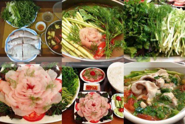 Cách nấu lẩu cá diêu hồng