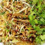 Món miến lươn trộn Hà Nội thơm ngon hấp dẫn