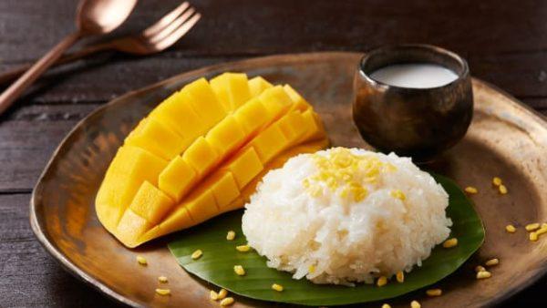 Sticky Rice with Mango Thái Lan