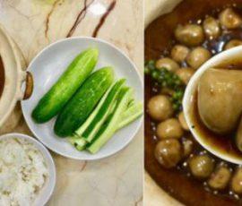 Món nấm rơm kho tiêu xanh siêu ngon