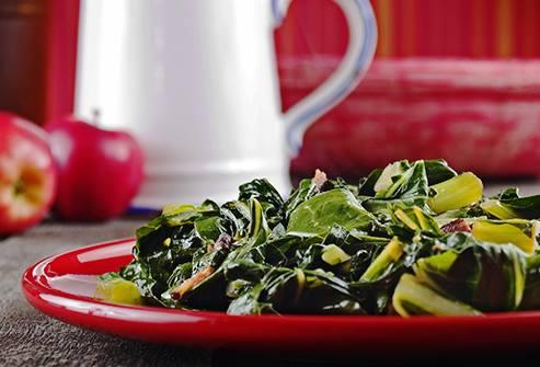 Rau cải chứa nhiều vitamin