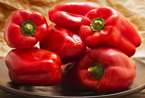 Ớt chuông đỏ giàu beta-carotene