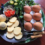 Món trứng gà nướng đơn giản bằng lò vi sóng