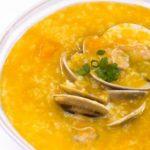 Món cháo ngao bí đỏ ngon bổ dưỡng