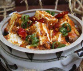 Món đậu hũ Tứ Xuyên ngon thần sầu