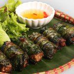 Món lươn cuốn lá lốt càng ăn càng ngon